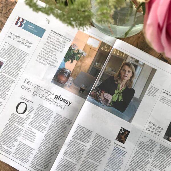 OMG Magazine - Marina de Kort-de Wolde - interview artikel in Trouw