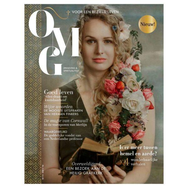 OMG Magazine cover editie 2 zomernummer - Voor een bezield leven - Spiritualiteit en zingeving - Other Me God - waar hemel en aarde elkaar ontmoeten