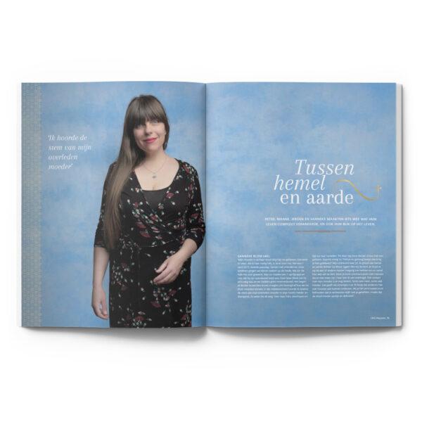 OMG Magazine editie 2 zomernummer - Voor een bezield leven - Other Me God - Artikel Meer tussen hemel en aarde interviews portretten