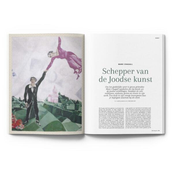 OMG Magazine editie 2 zomernummer - Voor een bezield leven - Other Me God - Artikel Schepper van de Joodse kunst Chagall