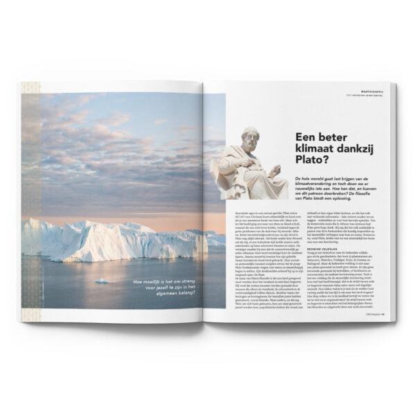 OMG Magazine editie 2 zomernummer - Voor een bezield leven - Other Me God - Een beter klimaat dankzij Plato