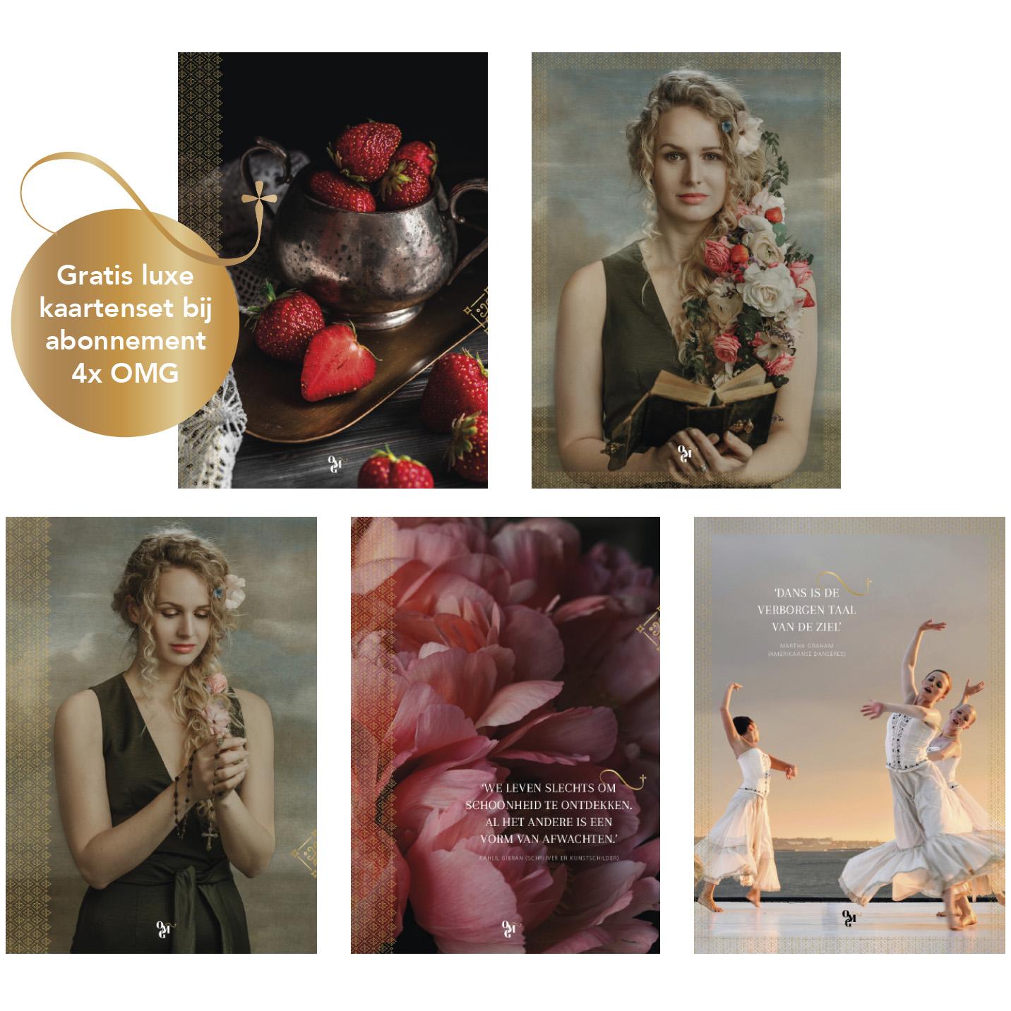OMG Magazine editie 2 gratis luxe kaartenset
